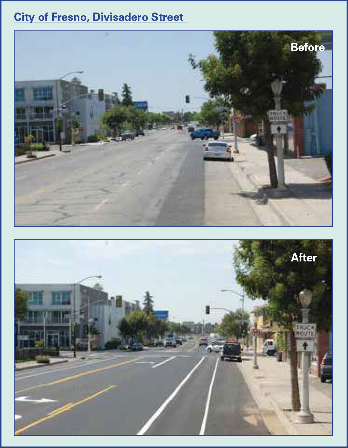 Figure 1: City of Fresno, Divisadero Street