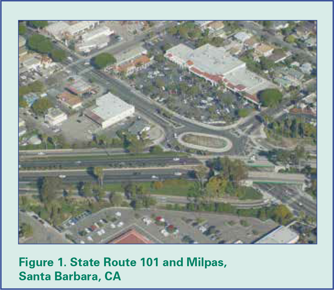 Figure 1. State Route 101 and Milpas, Santa Barbara, CA